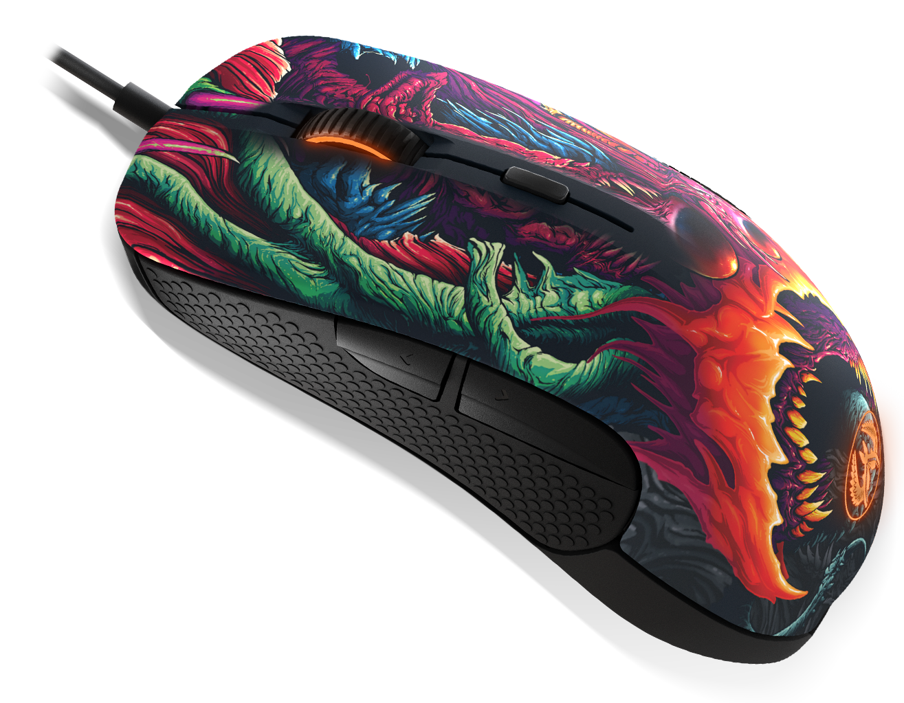 Rival 300 cs go hyper beast edition exclusive design for Cs go mouse