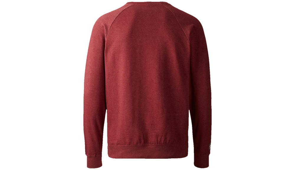 Logo Crew Sweat - Burgundy