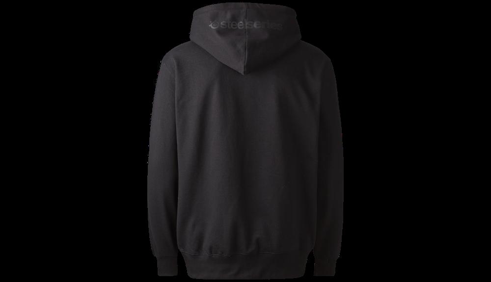 Logo Pro Zip Hoody - Black