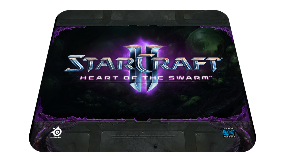 QcK StarCraft II Heart of the Swarm Logo Edition