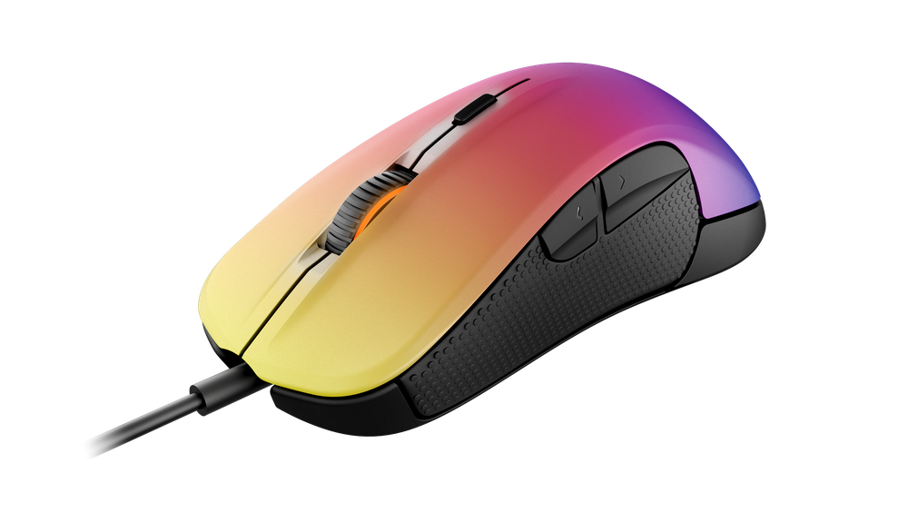 Rival 300 cs go fade edition exclusive design steelseries for Cs go mouse