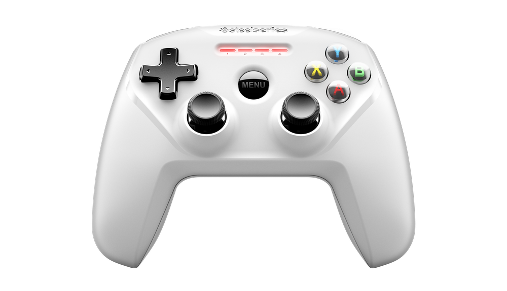 SteelSeries Nimbus Wireless Controller - White Play hundreds of your favorite controller-supported games with the new Nimbus Wireless Controller on your Apple TV.