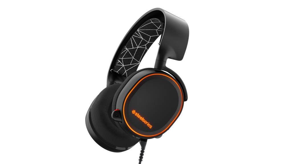 SteelSeries Arctis 5 Black Arctis 5 Gaming Headset features RGB illumination, Game/Chat audio balance, and DTS Headphone:X 7.1 Surround. Compatible with PC, Mac, PlayStation, Mobile, and VR.