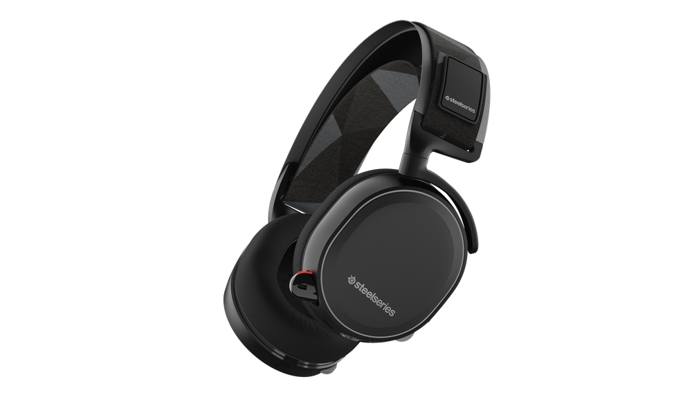 SteelSeries Arctis 7 Black Arctis 7 Gaming Headset features lag-free wireless audio, 24 hour+ battery life, Game/Chat balance, and DTS Headphone:X 7.1 Surround. Compatible with PC, Mac, PlayStation, Mobile, and VR.