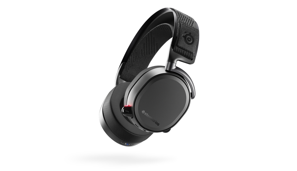 SteelSeries Arctis Pro Wireless Arctis Pro Wireless features rock solid dual-wireless technology with lag-free 2.4G wireless lossless audio and Bluetooth mobile audio, combined with hi-res capable speaker drivers and a ClearCast mic making it the ultimate gaming audio system.
