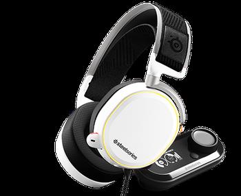 Arctis Pro + GameDAC Beyaz