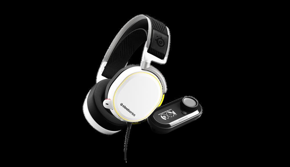 SteelSeries Arctis Pro + GameDAC White