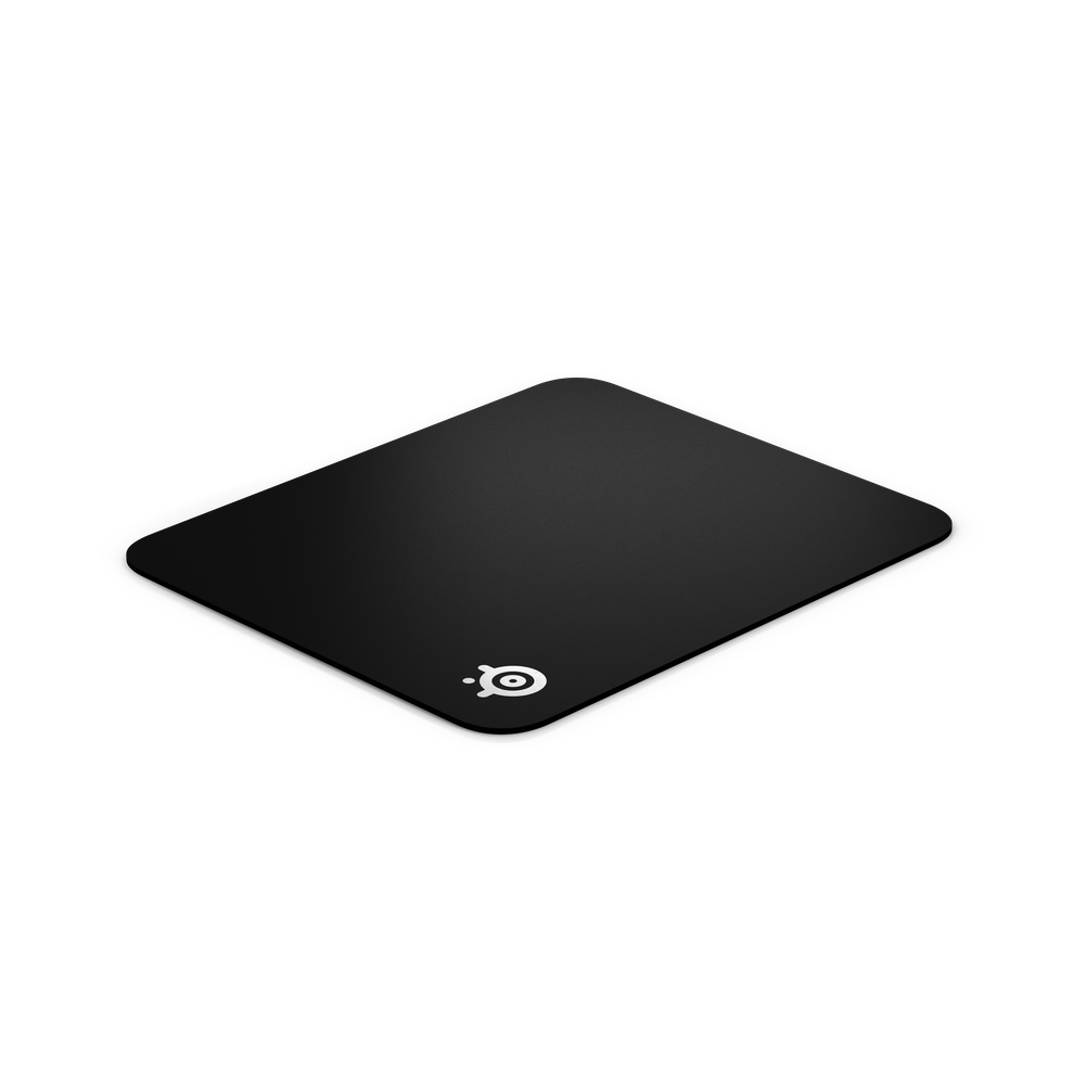 SteelSeries QcK Hard Pad - Hard polyethylene surface for maximum speed - Non-slip rubber base eliminates unwanted movement - Pinpoint Mouse Accuracy