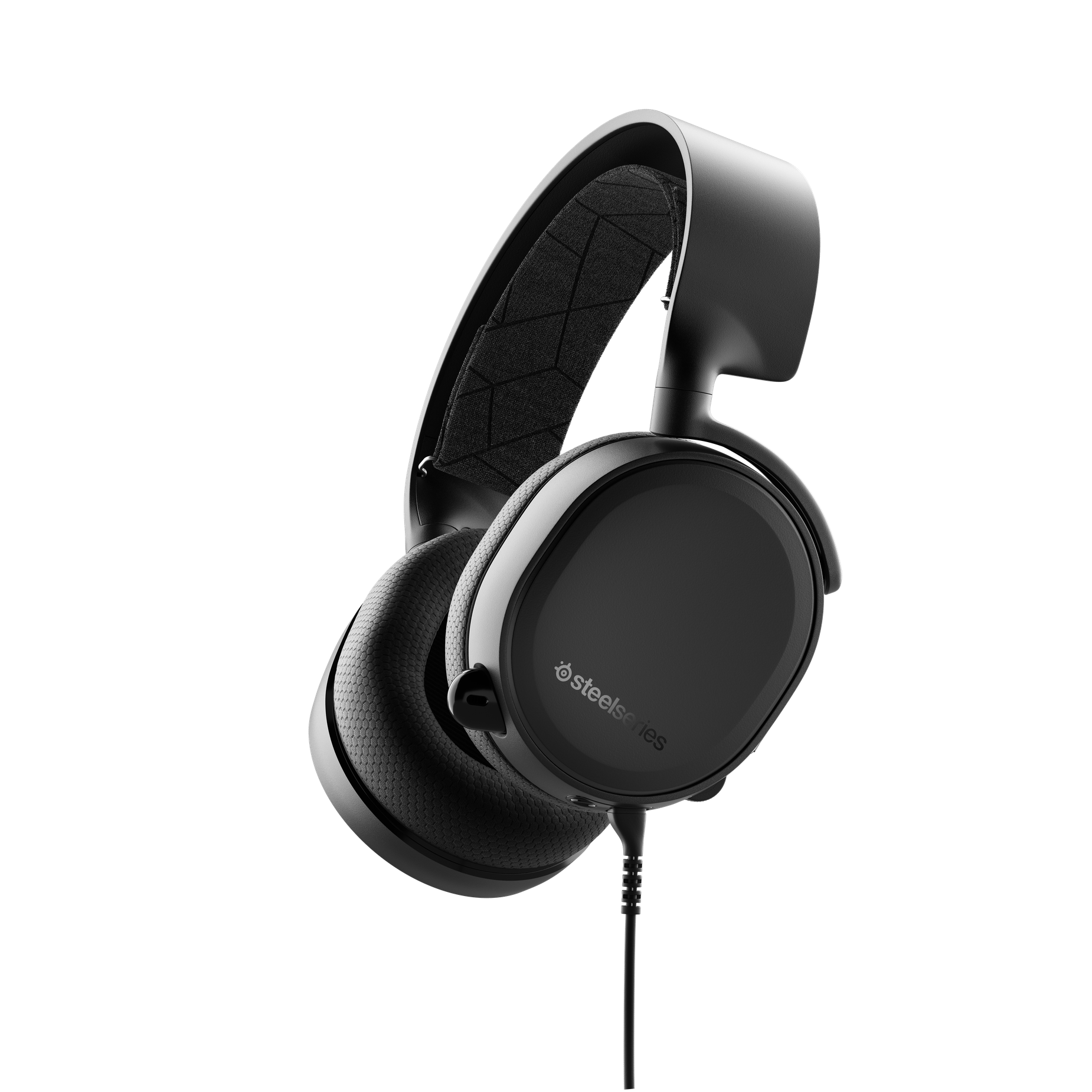 Side profile render of the headset