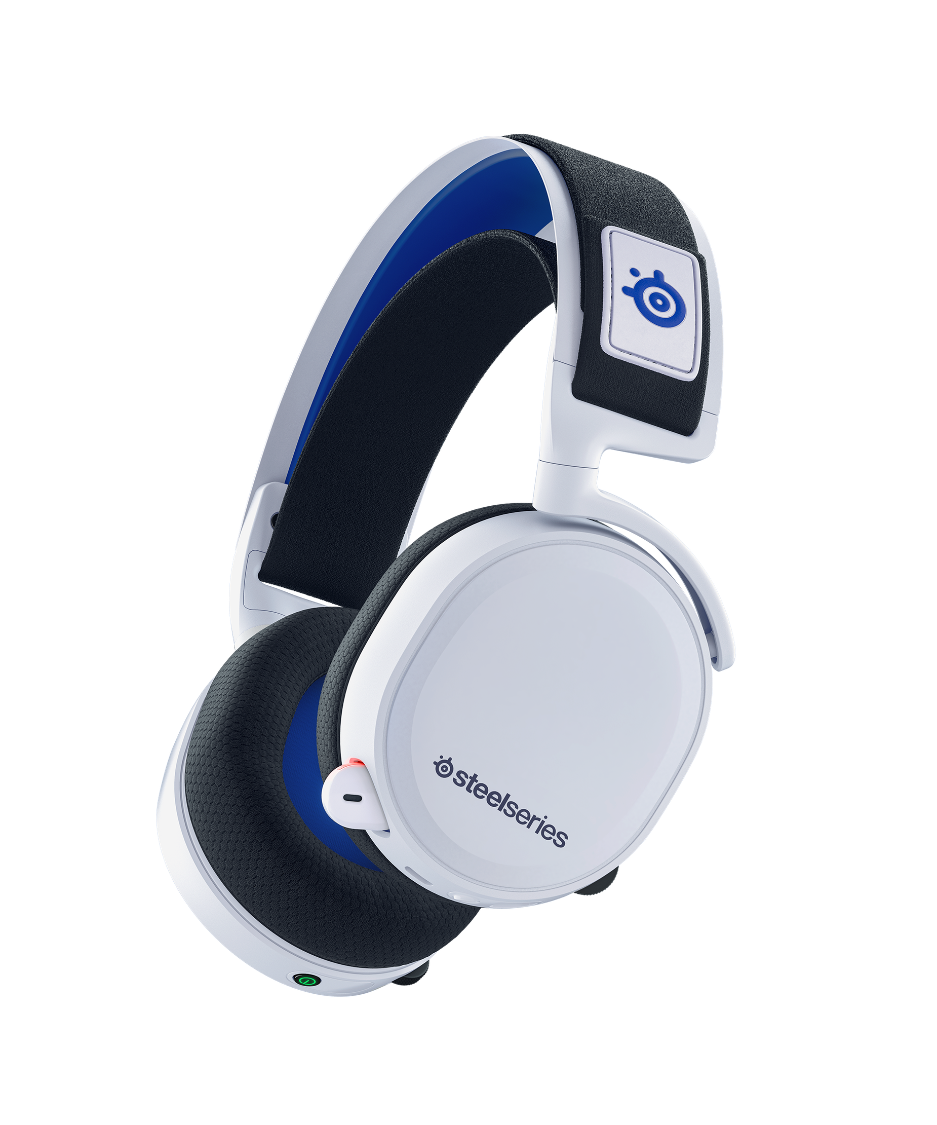 Product render of Arctis 7P headset at an angle