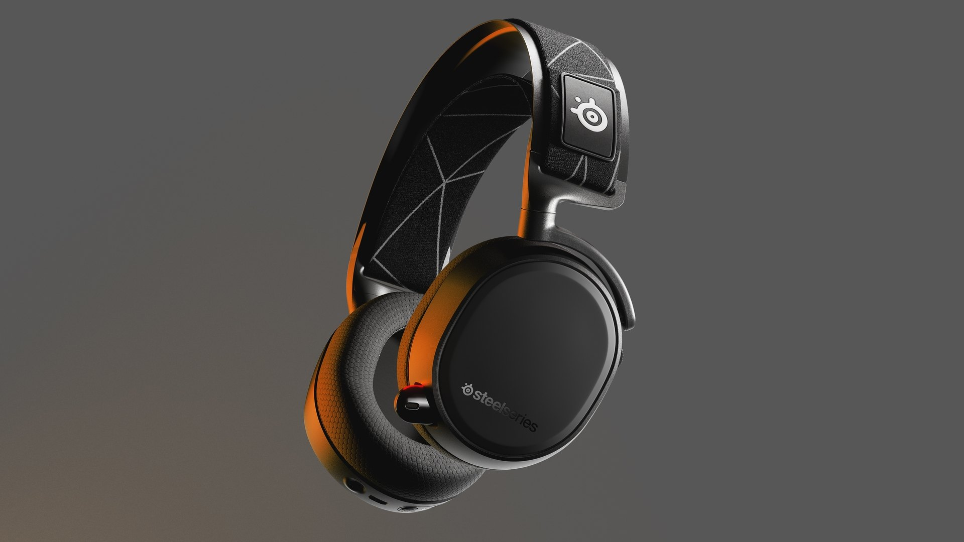 Arctis 9 headset with award for best gaming headset line