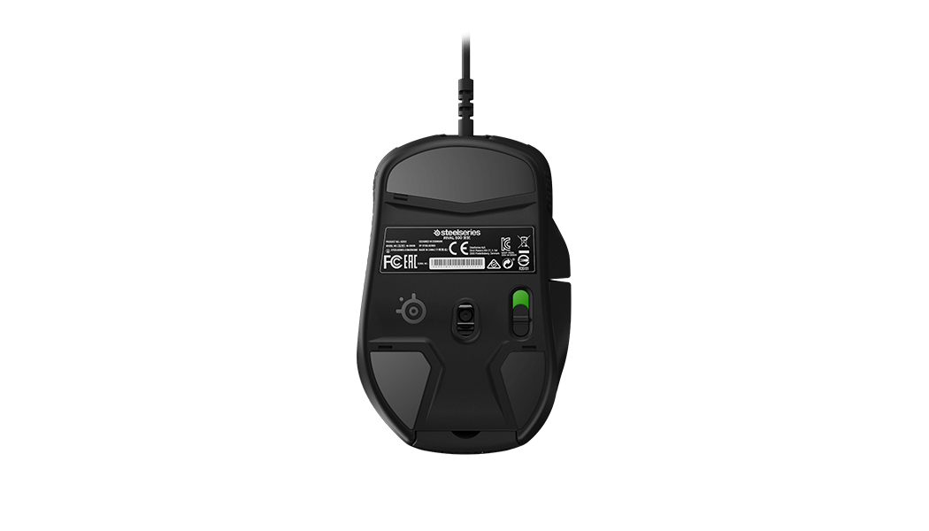 Rival 500 Mouse Gamer, bottom view