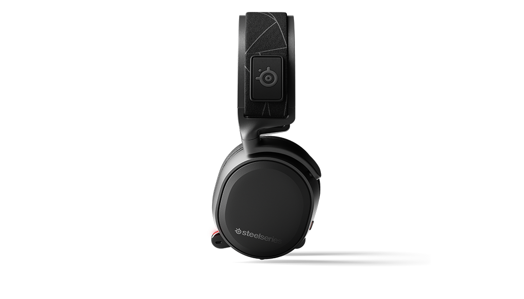 Arctis 7 headset side profile