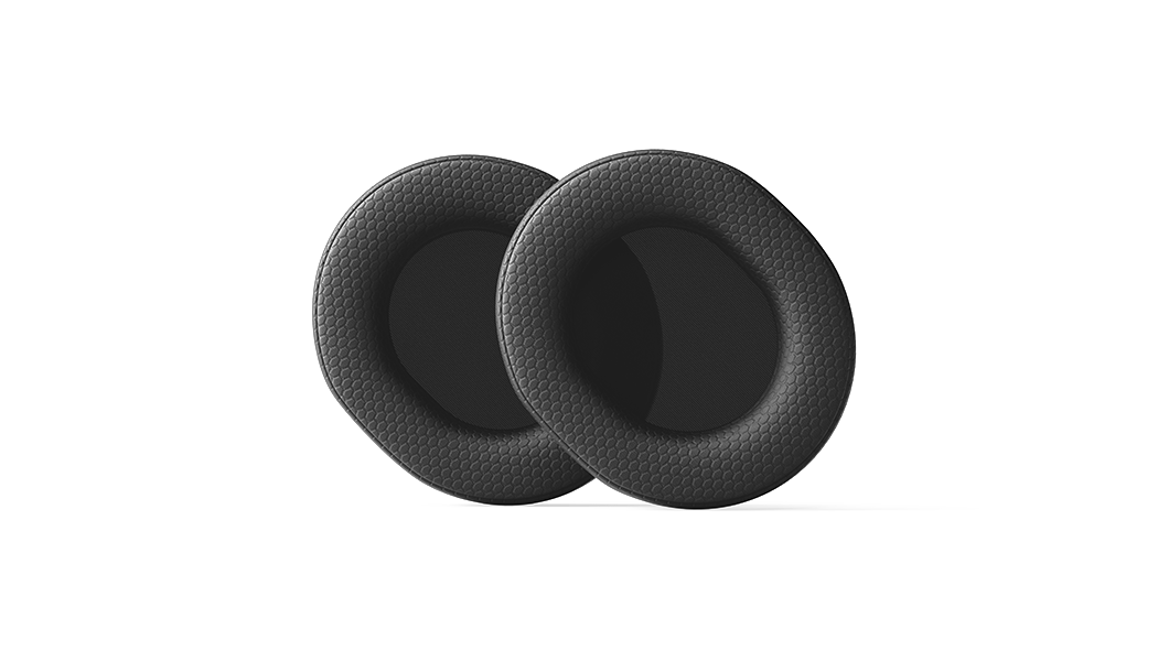 Two airweave cushions for the Arctis Pro are shown
