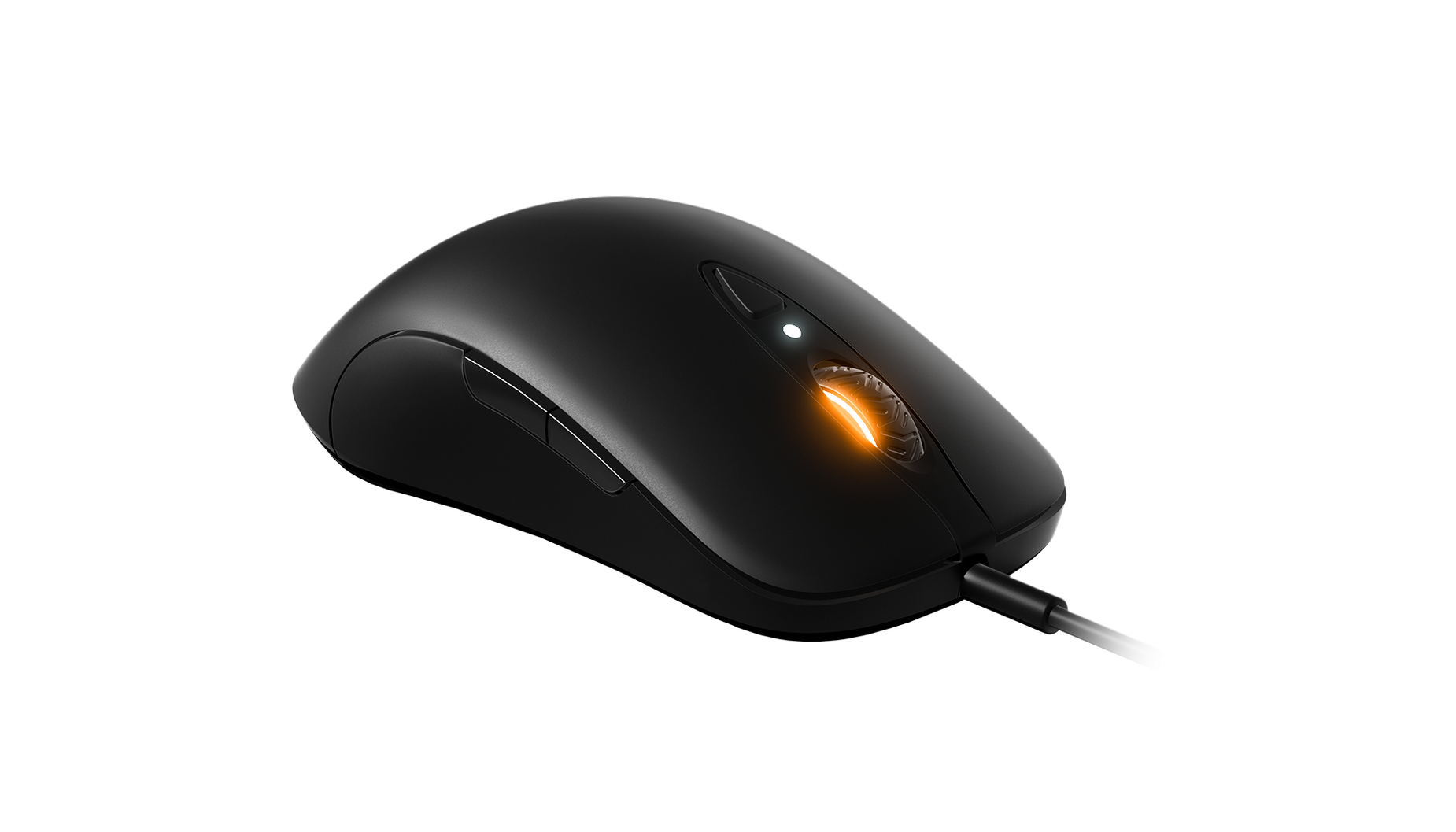 Sensei Ten gaming mouse, front view