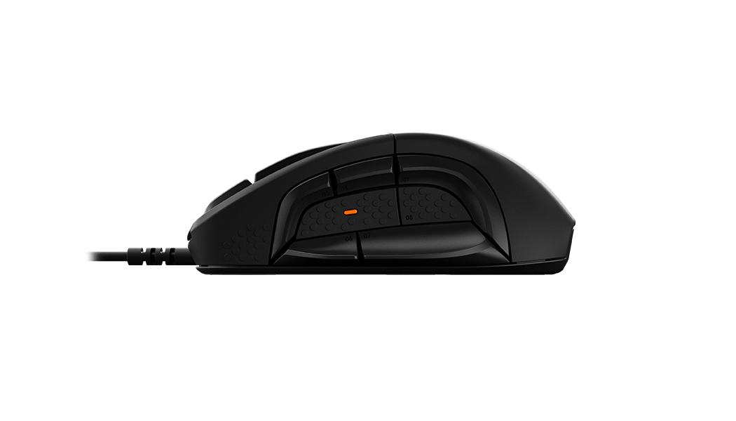 Rival 500 Mouse Gamer, side view