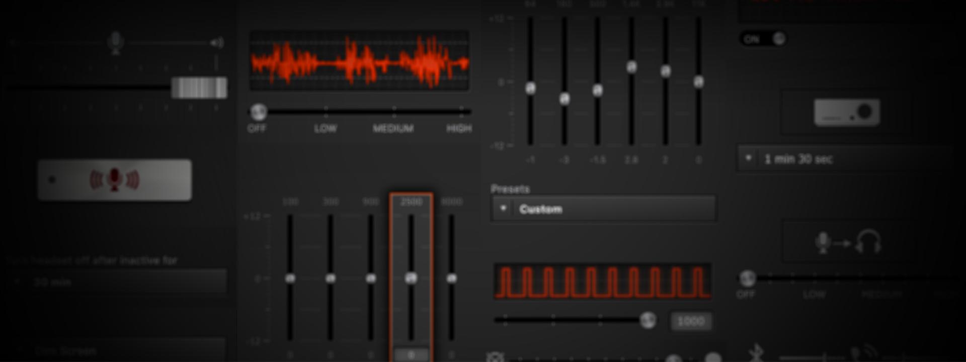 Personnalisez votre audio