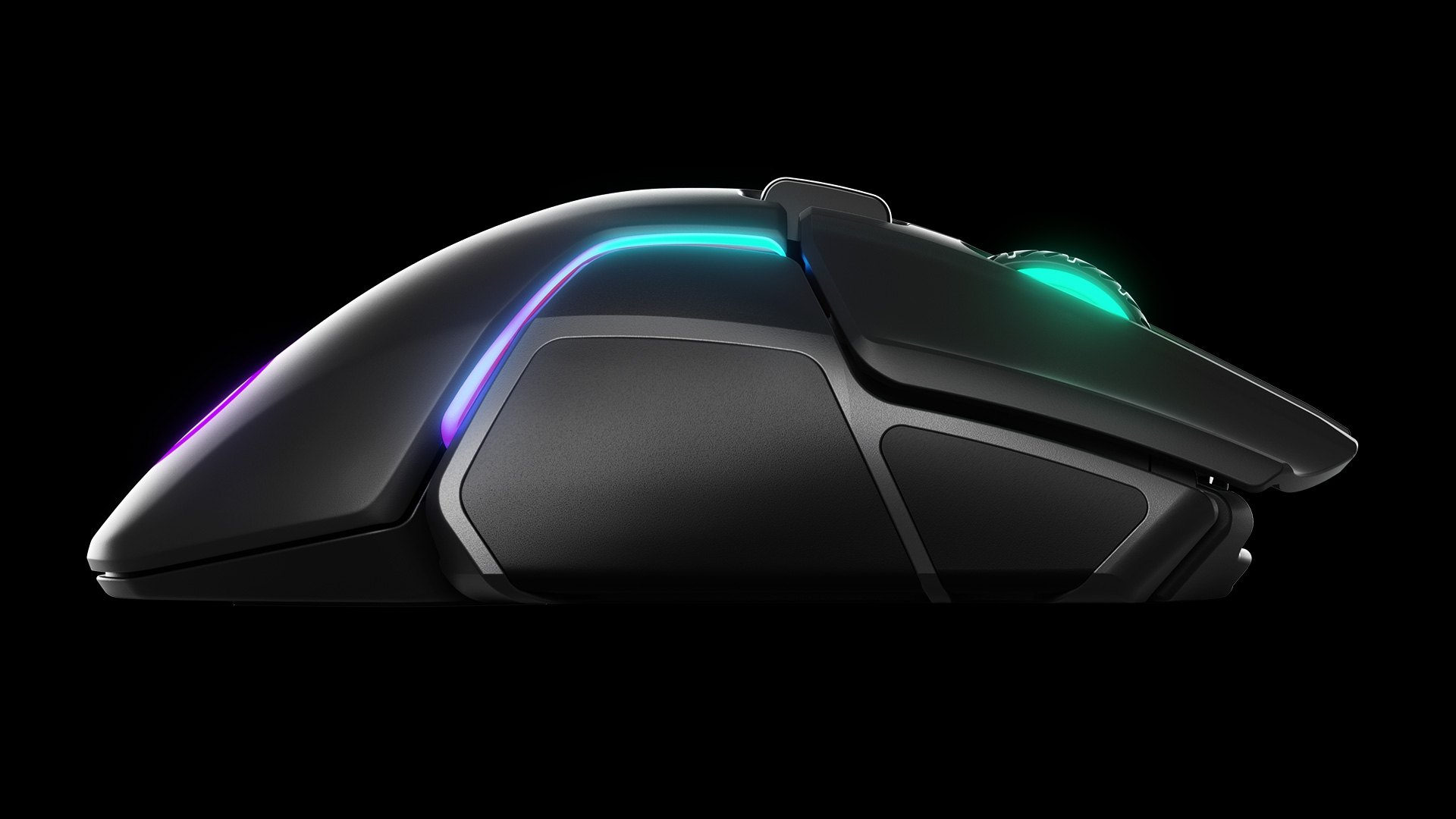 Side view of the mouse render floating
