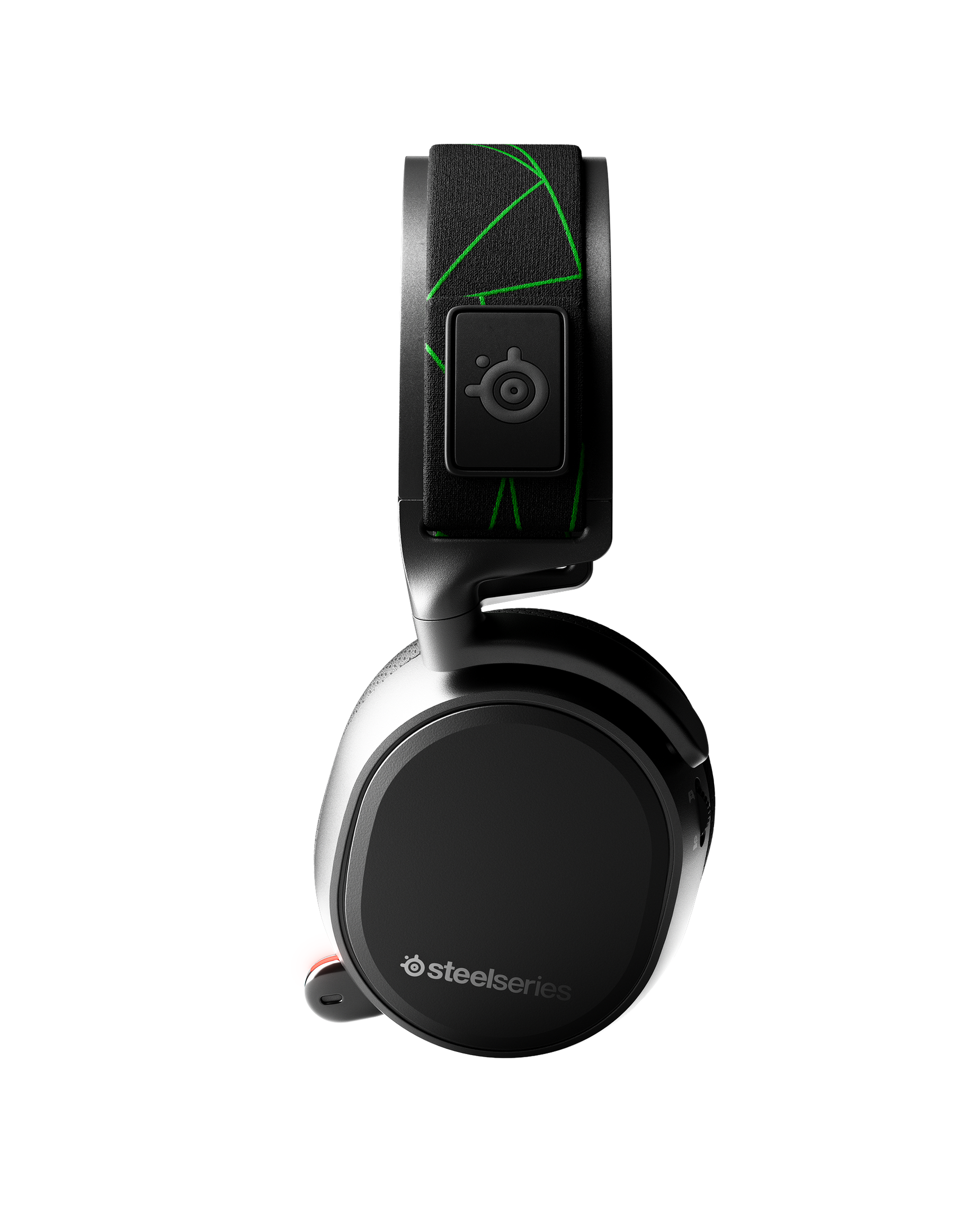 Arctis 9X viewed from the side profile