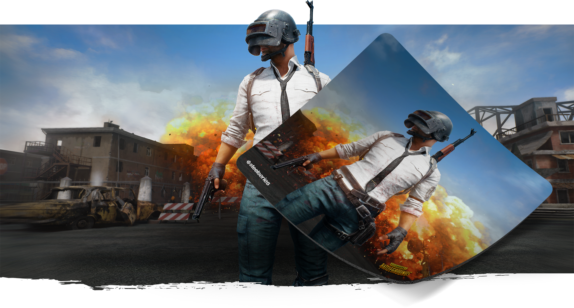 PUBG x SteelSeries is official!