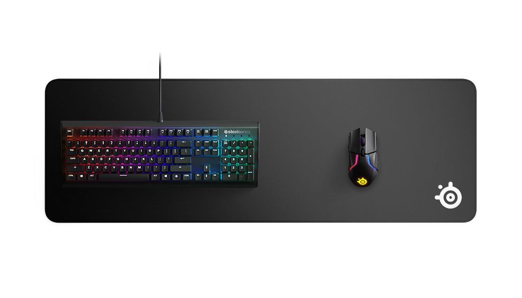 SteelSeries QcK Edge 布質滑鼠墊 - XL
