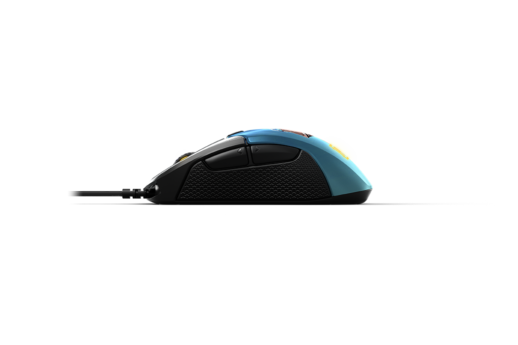 Rival 310 PUBG Edition gaming mouse 側視圖