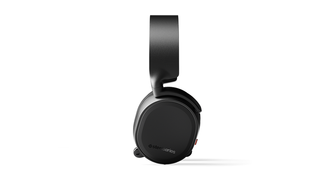 Arctis 3 - Black gaming headset from side profile