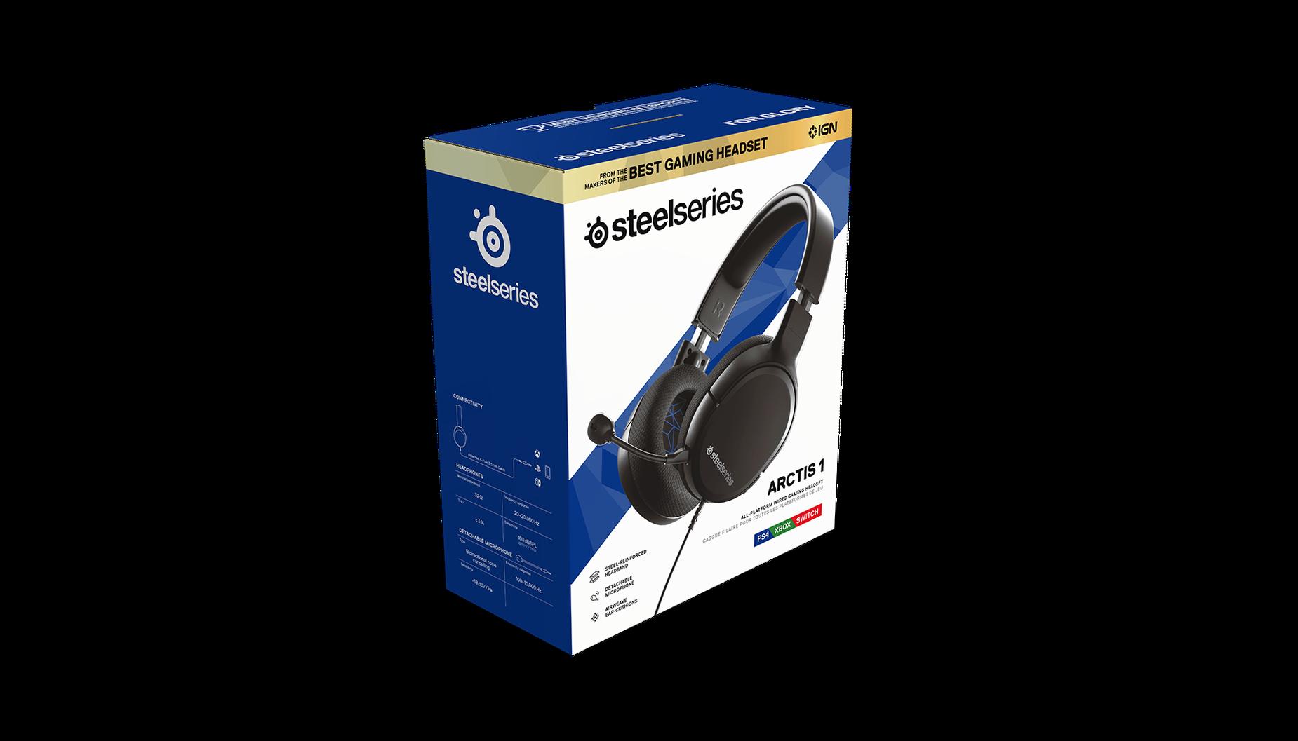 Arctis 1 for PS4 Verkaufsverpackung