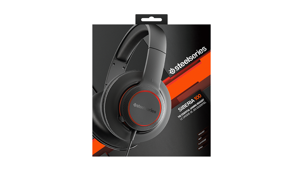 28201caa47a Siberia P100 Gaming Headset - PC, Mac, PS, Xbox, Mobile | SteelSeries