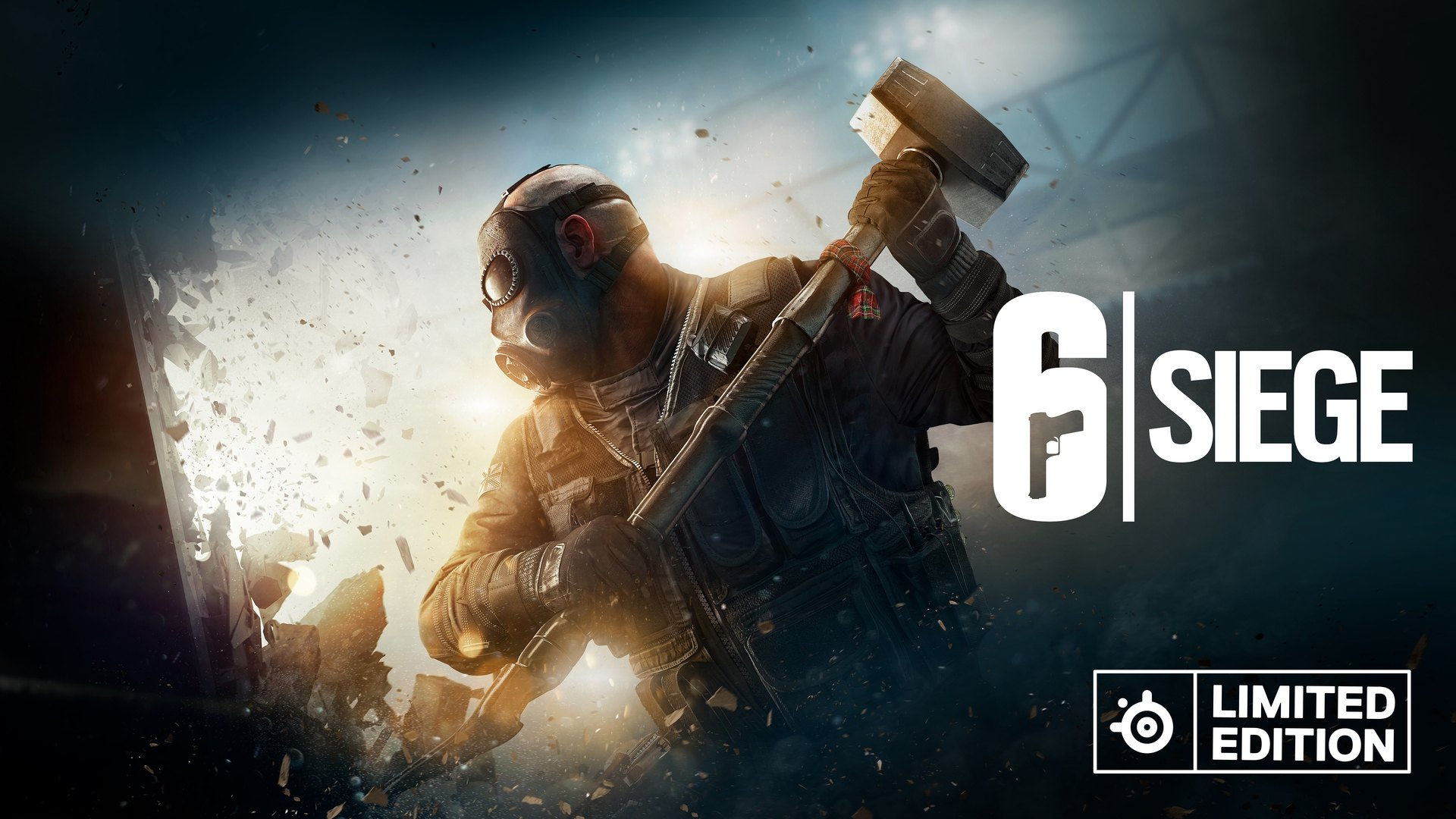 Rainbow Six Siege image hero character wielding weapon