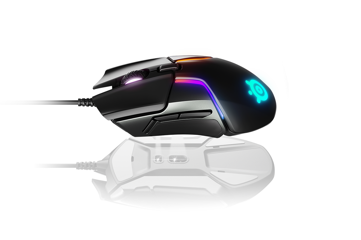 Rival 600 gaming mouse floating