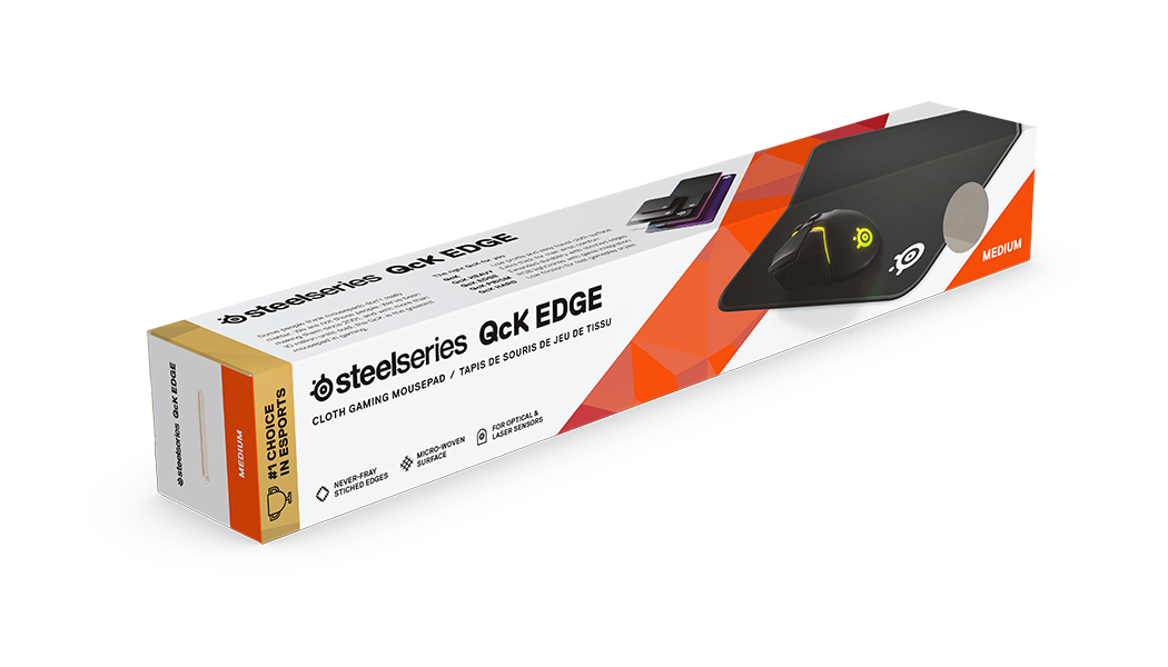 QcK Edge M exterior packaging