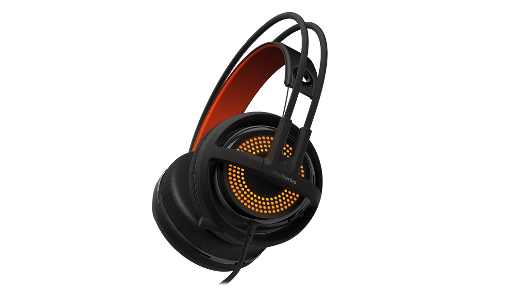 Siberia 350 USB Illuminated RGB Gaming Headset | SteelSeries