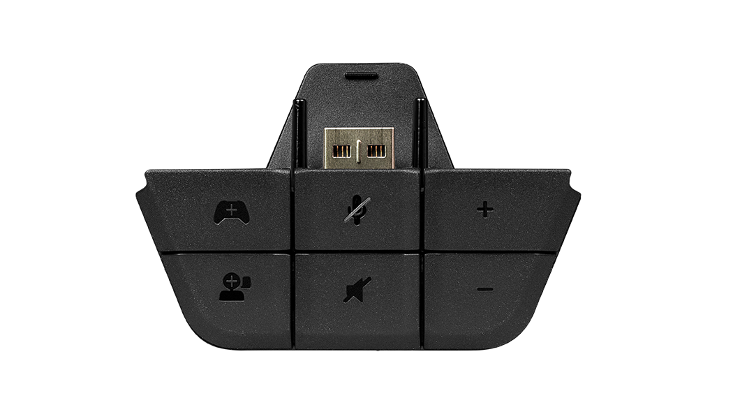 Xbox One Headset Adapter, front view