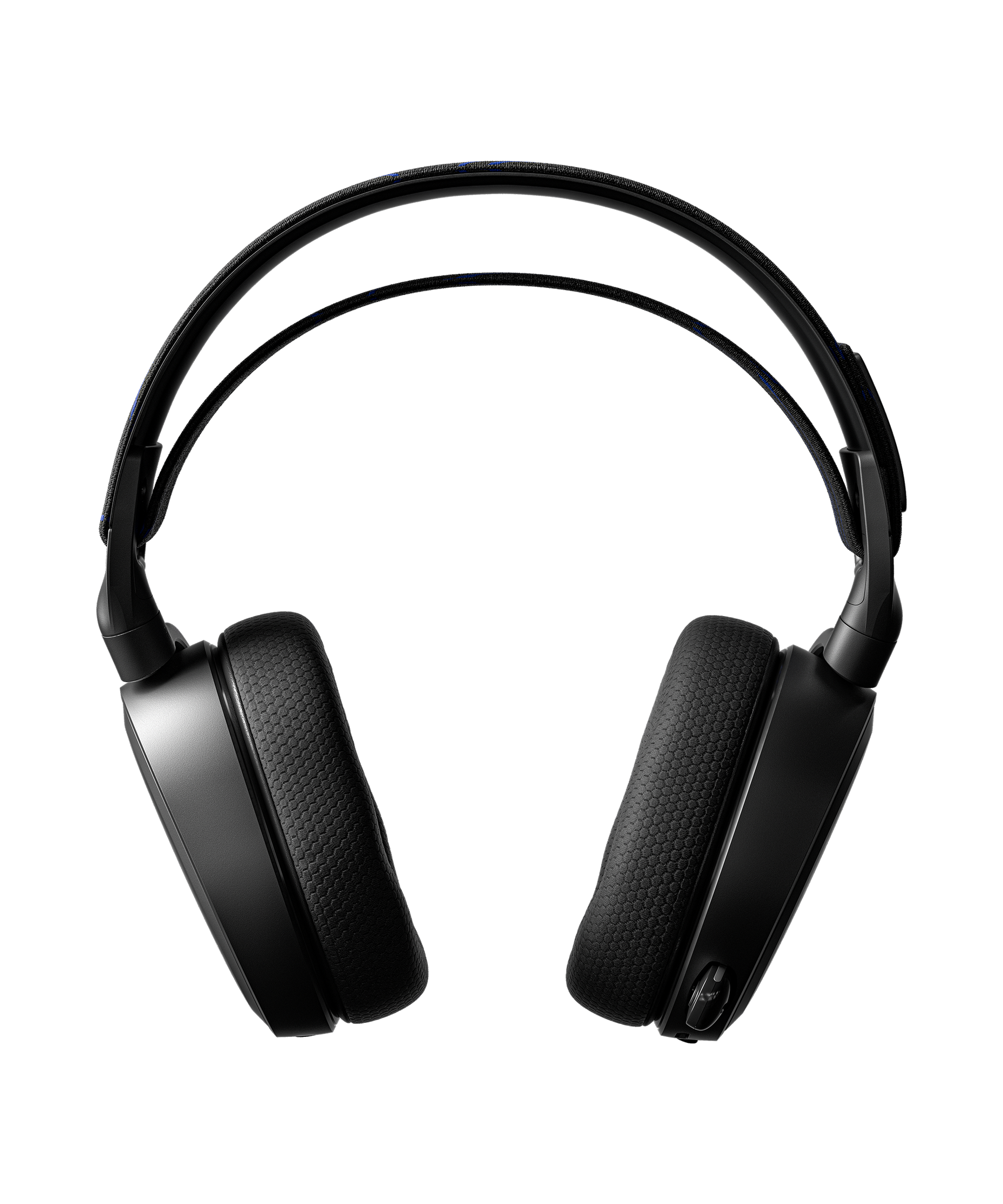 Frontal product render of the Arctis 7P headset