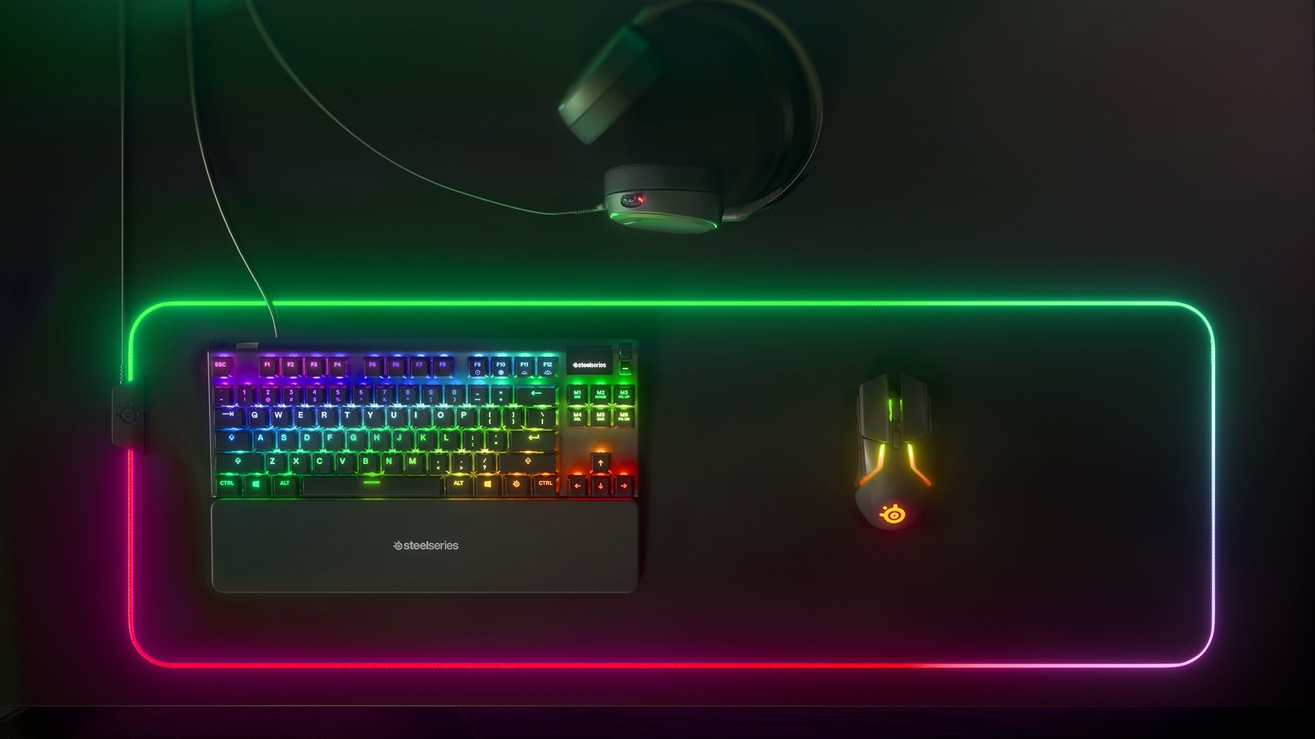 Dynamic Per-Key RGB Illumination