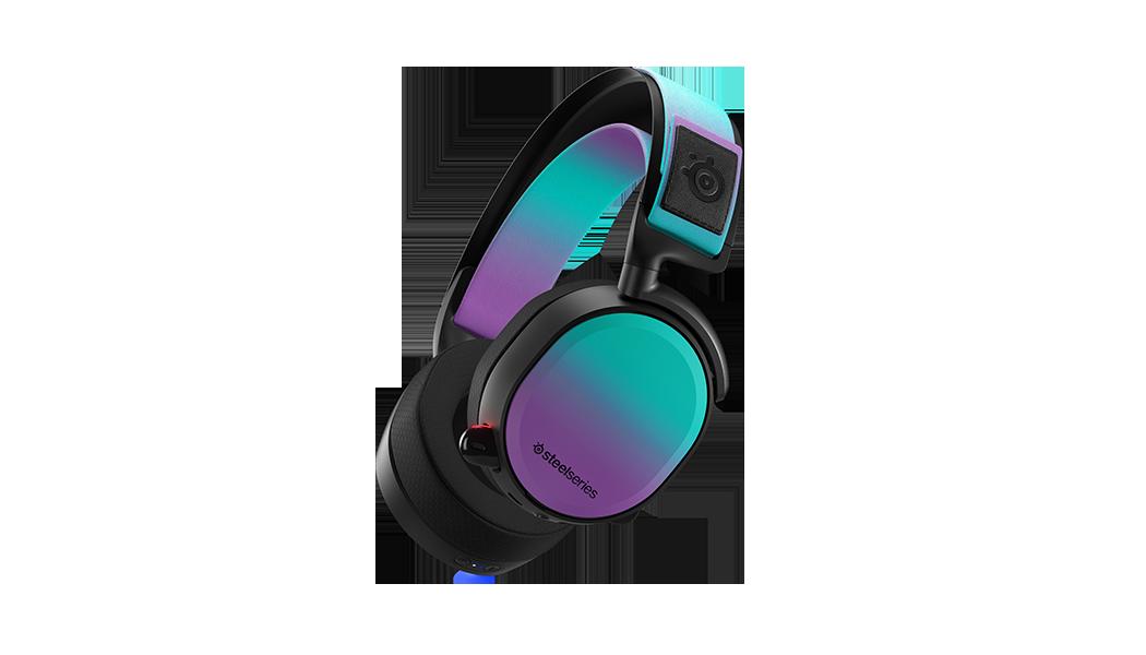 Arcitis Pro 展示於加速器包中新的喇叭面板和頭帶