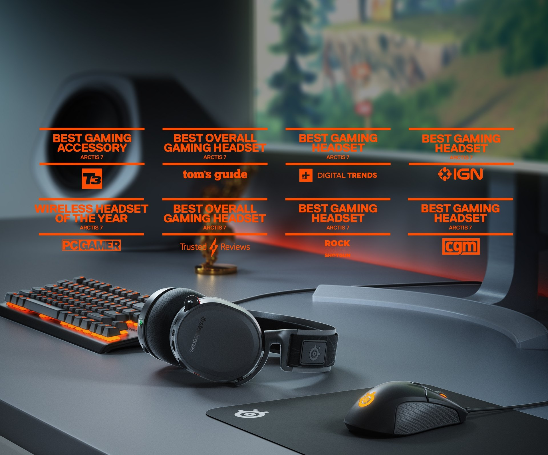 Arctis 7 Best Wireless Gaming Headset Steelseries Headphone With Mic And Volume Wiring Diagram The Most Awarded Ever